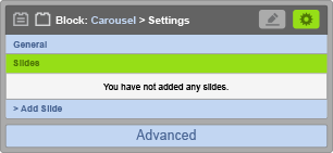 Carousel Block - Slides