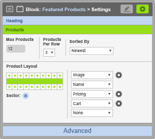 Featured Products Block - Products