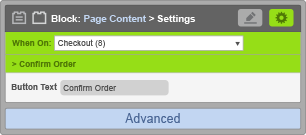 Page Content Block - When On Checkout - Confirm Order